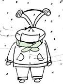 有一种冷,叫忘带胸罩……漫画